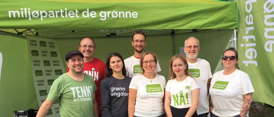 Grønne politikere i Skien