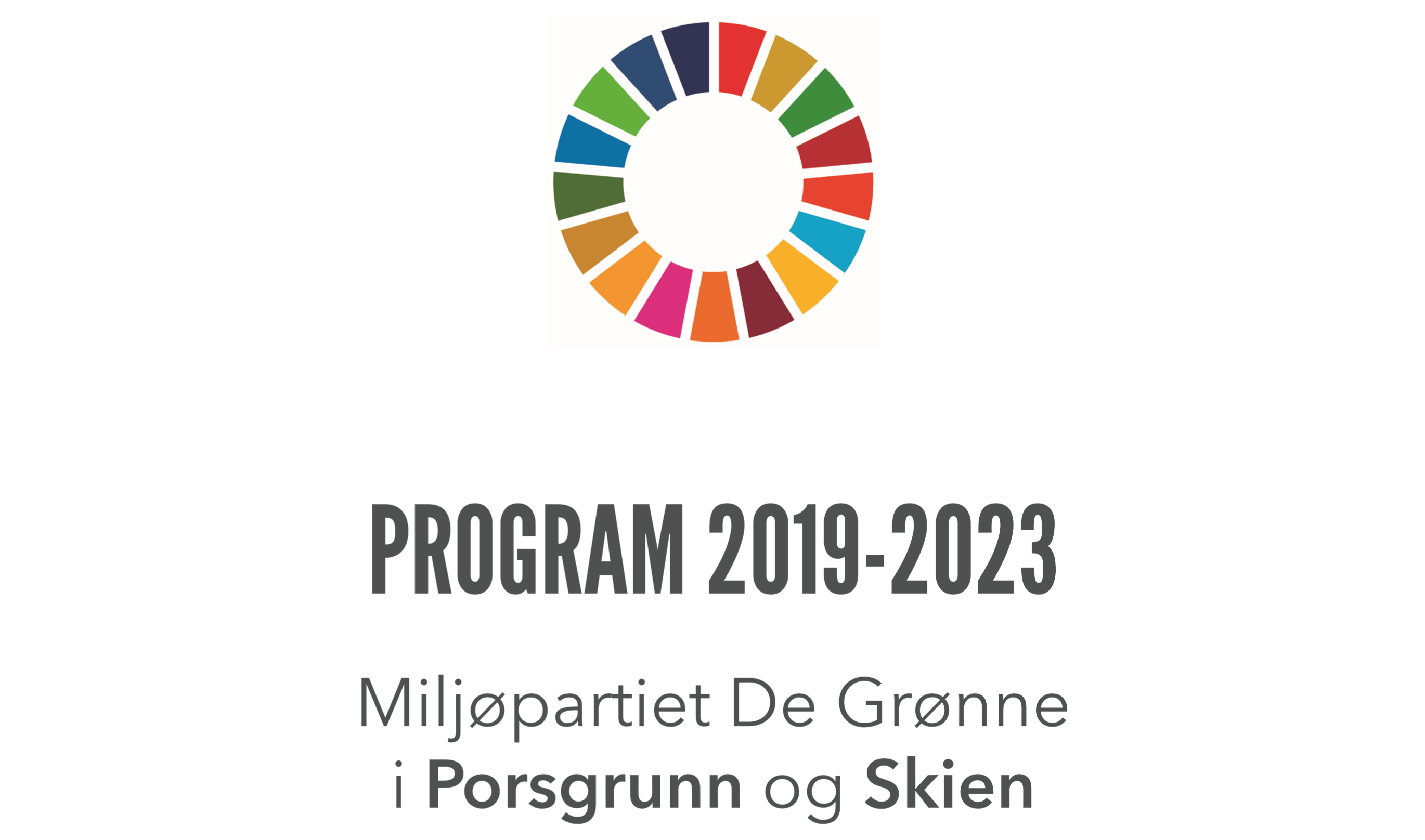 Program MDG Skien og Porsgrunn 2019-2023